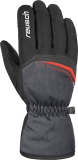 Reusch Snow King 4801198 7680 black red grey front